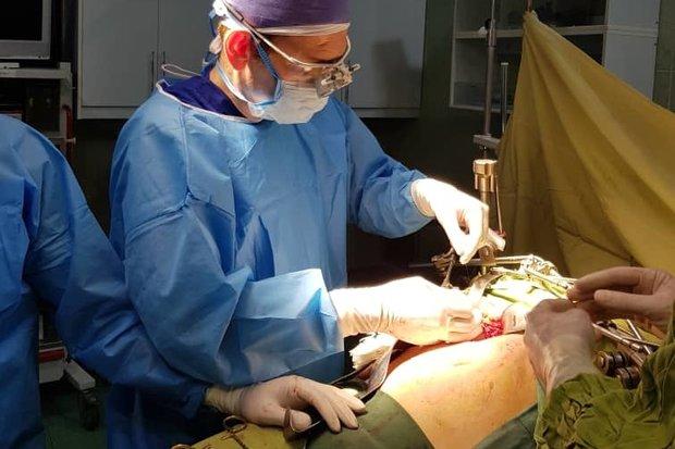 زمان طلایی پیوند عروق حین جراحی ارتوپدی
