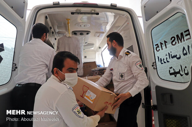 کاهش ۲۵ دقیقه ای حضور اورژانس بر بالین بیماران در تهران