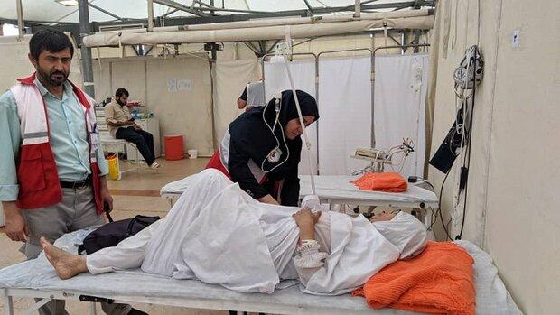 بستری ۶۵ حاجی ایرانی در بیمارستان های هلال احمر و سعودی