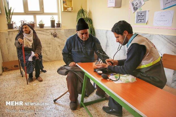ارائه خدمات درمانی داوطلبانه در مناطق سیل زده