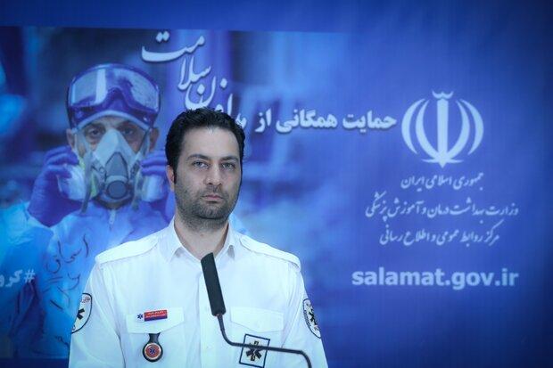 اورژانس تهران بعد از کرونا روزانه 30 هزار تماس داشت