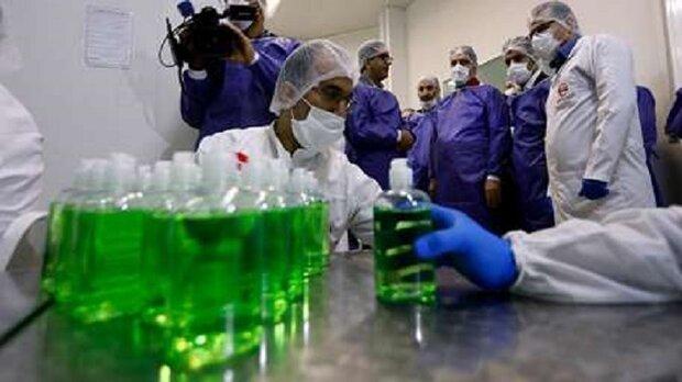 افتتاح خط تولید آنژیوکت در کارخانه هلال احمر