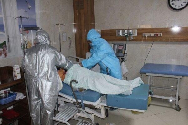 کاهش میزان بستری بیماران کرونا در کشور